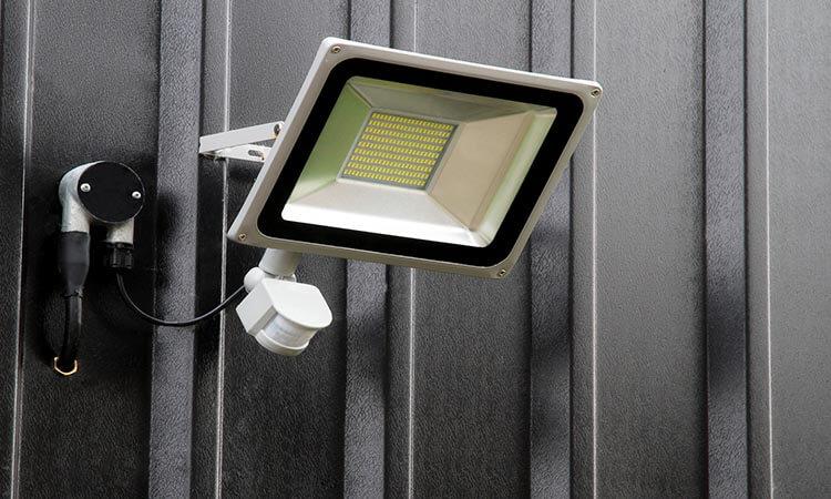 install motion sensor flood lights